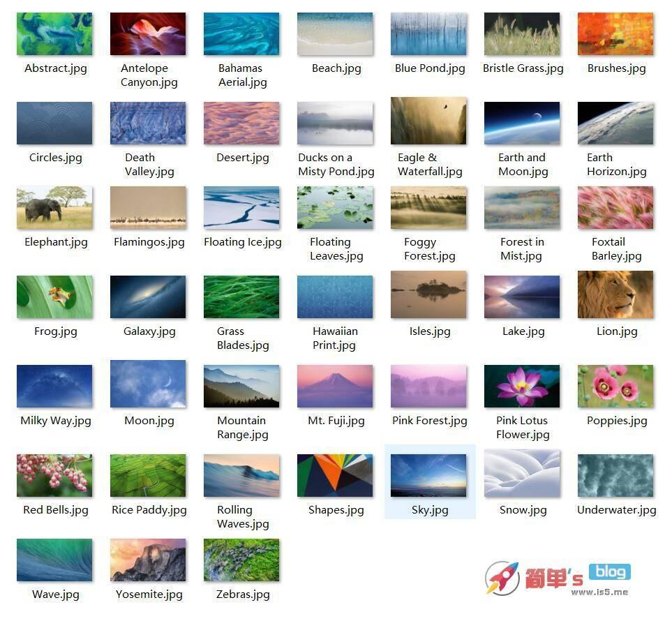 分享 苹果MAC OS 壁纸分享 高清超大分辨率-简单's blog